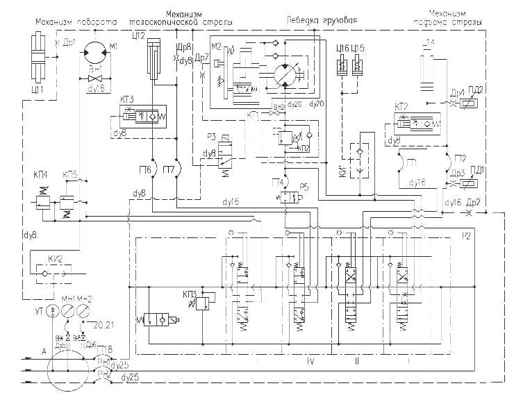 Схема гидравлическая