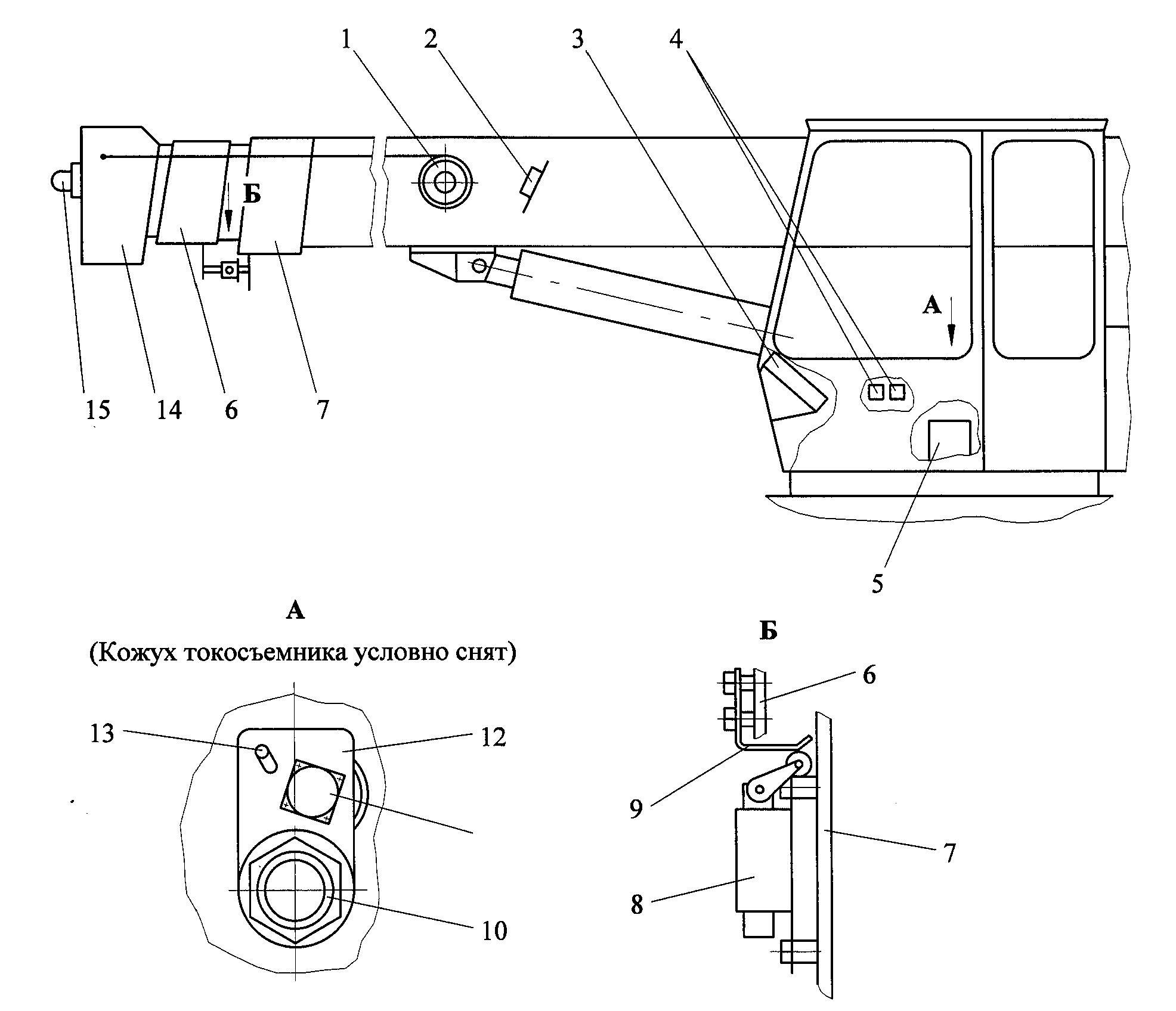 схема подключения гидроманипулятора epsilon